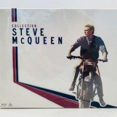 Música de colección: STEVE MCQUEEN COLLECTOR BOX BLU-RAY. Lote 211487002