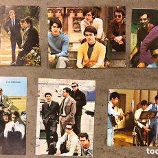 Música de colección: LOTE 6 ANTIGUOS CROMOS GRUPOS MÚSICA ESPAÑOLES; LOS BRINCOS, LOS PEKENIKES, LOS STOP, LOS ÁNGELES,... Lote 211520596