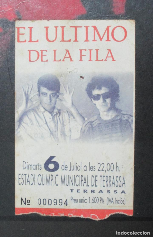 Música de colección: Cartel - El Ultimo de la Fila en Concert - Pavello Fontejau, Girona - Últim Concert - con 6 Entradas - Foto 3 - 211891035