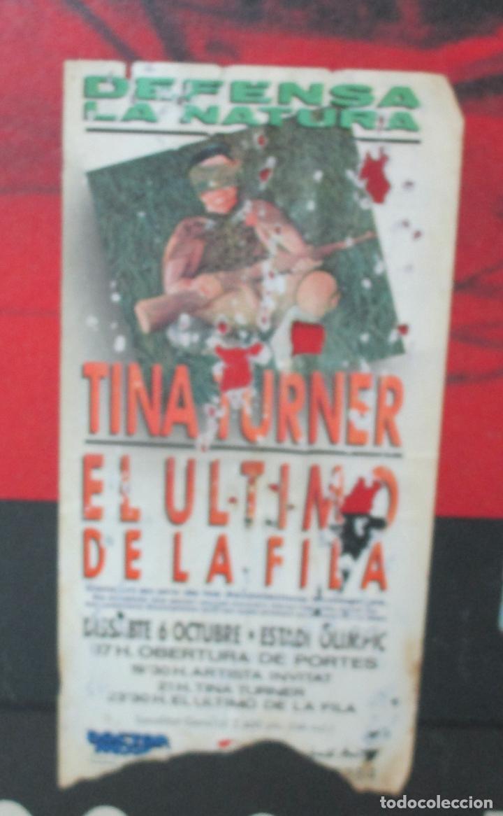 Música de colección: Cartel - El Ultimo de la Fila en Concert - Pavello Fontejau, Girona - Últim Concert - con 6 Entradas - Foto 6 - 211891035