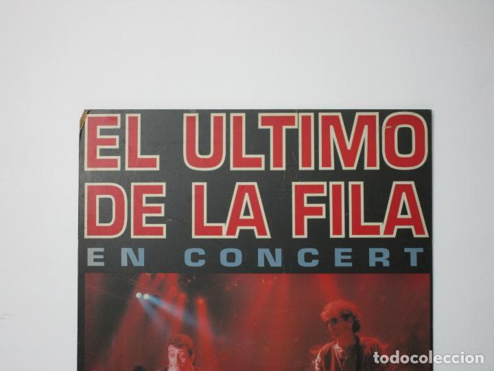 Música de colección: Cartel - El Ultimo de la Fila en Concert - Pavello Fontejau, Girona - Últim Concert - con 6 Entradas - Foto 12 - 211891035