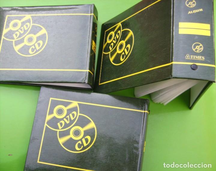 Música de colección: Lote 3 albumes o porta CDs - DVDs - Foto 2 - 211923890