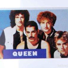 Música de coleção: CROMO SUPER MUSICAL 81. QUEEN. EYDER, CIRCA 1980. Lote 239892315