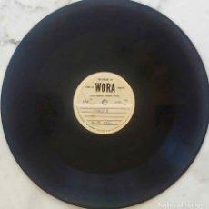 Música de colección: MAYAGUEZ. PUERTO RICO. POESÓA PARTE III. ACETATO. MATRIZ. DISCO METAL MARCA WORA 78 RPM. Lote 212251506