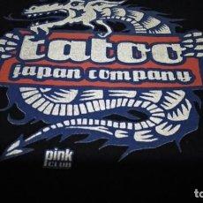 Música de colección: CAMISETA PINK CLUB RECORDS ( TATOO - JAPAN COMPANY ) USADA ANTIGUA VER FOTOS. Lote 212647971