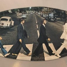 Musica di collezione: MASCARILLA DOBLE CAPA REUTILIZABLE THE BEATLES, ABBEY ROAD, POPLAND. Lote 213261093