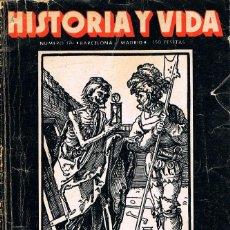 Música de colección: HISTORIA Y VIDA Nº 174: LA MUERTE NEGRA, LA MONJA ALFEREZ..., SEPTIEMBRE DE 1982. Lote 213643686