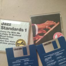 Música de colección: DISQUETES FLOPPY JAZZ STANDARD Y PIANO JAZZ AND BLUES 1993. Lote 213710956