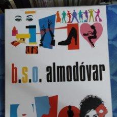 Música de colección: B.S.O. ALMODÓVAR. PRECIOSA CAJA EDICIÓN ESPECIAL EDITADA POR EMI EN 2008. Lote 213859647