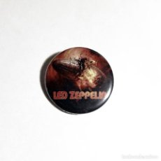 Música de colección: LED ZEPPELIN - CHAPA 31MM (CON IMPERDIBLE) - HARD ROCK. Lote 43458605