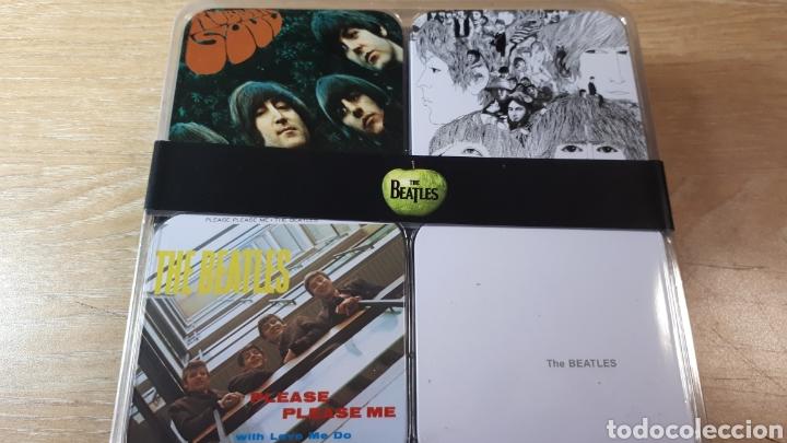 Música de colección: 32 POSAVASOS CON LAS PORTADAS DE THE BEATLES - Foto 2 - 214219416