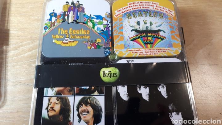 Música de colección: 32 POSAVASOS CON LAS PORTADAS DE THE BEATLES - Foto 4 - 214219416