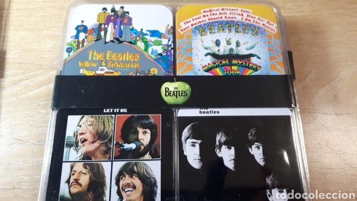 Música de colección: 32 POSAVASOS CON LAS PORTADAS DE THE BEATLES - Foto 5 - 214219416
