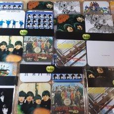 Música de colección: 32 POSAVASOS CON LAS PORTADAS DE THE BEATLES. Lote 214219416