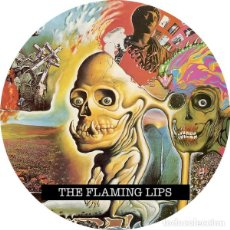 Musique de collection: IMAN/MAGNET THE FLAMING LIPS . WAYNE COYNE ROCK AND ROLL PSYCHEDELIC POP FOLK. Lote 215185722