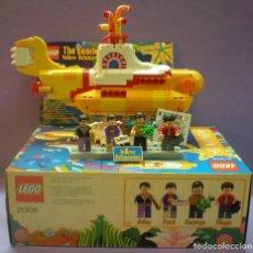 Música de colección: LEGO - THE BEATLES / YELLOW SUBMANINE - 21306 DESCATALOGADO. Lote 215622908
