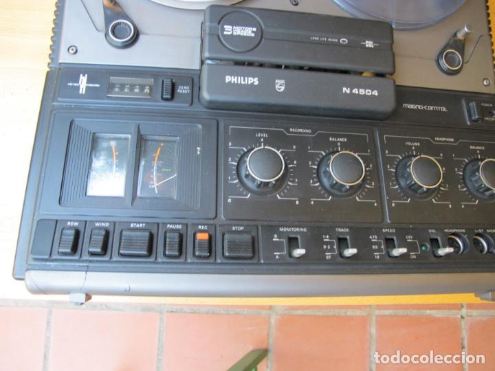 Música de colección: MAGNETÓFONO BOBINA ABIERTA DE ALTA FIDELIDAD PHILIPS N4504 STÉREO + ACCESORIOS. ( DEFECTUOSO - Foto 2 - 236996830