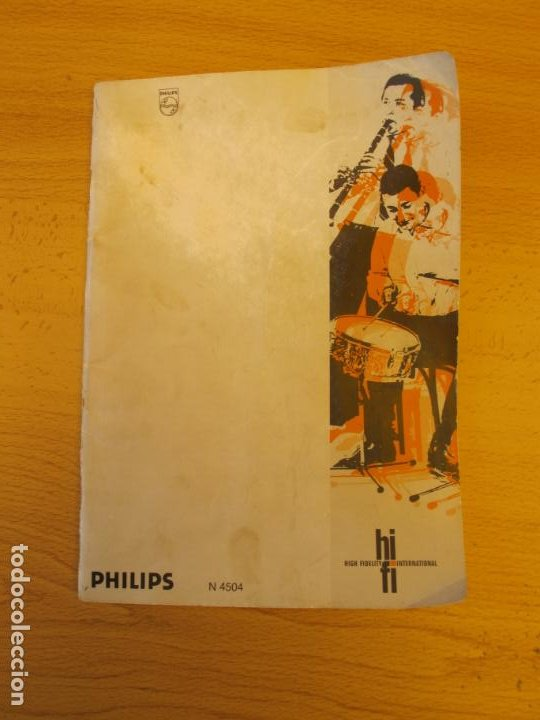Música de colección: MAGNETÓFONO BOBINA ABIERTA DE ALTA FIDELIDAD PHILIPS N4504 STÉREO + ACCESORIOS. ( DEFECTUOSO - Foto 9 - 236996830