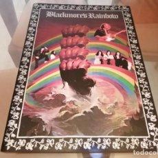 Música de colección: RAINBOW RISING TOURBOOK JAPONÈS PROGRAMA DE GIRA 1976 RONNIE JAMES DIO DEEP PURPLE. Lote 218350648