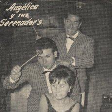 Música de colección: PROGRAMA PROMOCIONAL GRUPO MUSICAL ANGÉLICA Y SERENADER´S(LEER DESCRIPCIÓN,ENVÍO,ETC). Lote 218375391