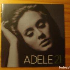 Música de colección: ADELE 21 BOOKLET. Lote 218633077