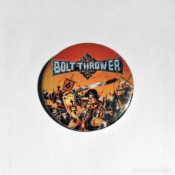 BOLT THROWER - WAR MASTER CHAPA 59MM (CON IMPERDIBLE) - DEATH METAL (Música - Varios)