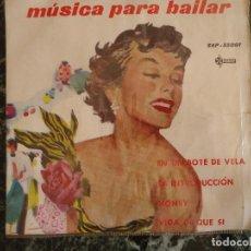 Música de colección: MUSICA PARA BAILAR. DISCOGRÁFICA SAEF. Lote 219180135