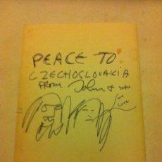 Música de colección: CATÀLOGO CHRISTIE´S -JOHN LENNON & YOKO ONO - 2002. Lote 220084436