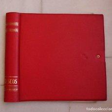 Música de colección: ALBUM PARA GUARDAR DISCOS VINILO LP MAXI-SINGLES. COLOR ROJO. 12 FUNDAS PARA 24 DISCOS. Lote 220491767