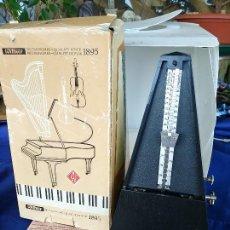 Música de colección: WITNER METRONOME 816 K CON CAMPANA METRONOMO. Lote 220648213
