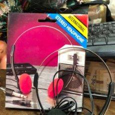 Música de colección: AURICULAR STEREO HEADPHONE EN CAJA ORIGINAL. Lote 220817940