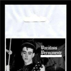 Música de colección: PARÁLISIS PERMANENTE QUIERO SER SANTA FLEXIBLE BIG MAGNET IMÁN GRANDE. Lote 221249405