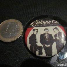 Música de colección: CHAPA 32 MM JOHNNY CASH & TENNESSEE TRIO. Lote 221429306