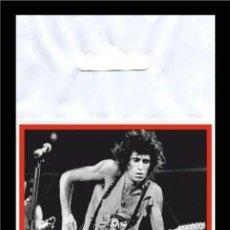 Música de colección: ROLLING STONES KEITH RICHARDS FLEXIBLE BIG MAGNET IMÁN GRANDE. Lote 221594376