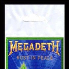 Música de colección: MEGADETH RUST IN PEACE FLEXIBLE BIG MAGNET IMAN GRANDE 0112. Lote 221701486