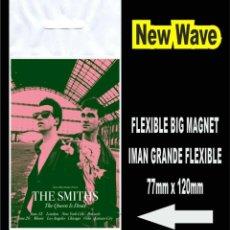 Música de colección: THE SMITHS THE QUEEN IS DEAD MORRISSEY FLEXIBLE BIG MAGNET IMAN. Lote 221900383
