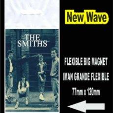 Música de colección: THE SMITHS QUEEN IS DEAD MORRISSEY FLEXIBLE BIG MAGNET IMAN. Lote 221900903