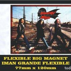 Musica di collezione: BARON ROJO VOLUMEN BRUTAL FLEXIBLE BIG MAGNET IMÁN GRANDE. Lote 221906692