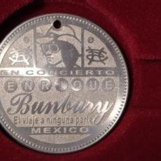 Música de colección: MONEDA HEROES DEL SILENCIO BUNBURY. Lote 222075821