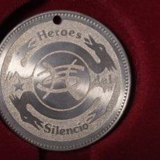 Música de colección: MONEDA HEROES DEL SILENCIO BUNBURY. Lote 222076441