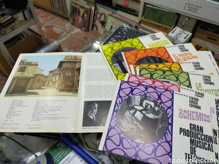 Música de colección: Serie teatro lírico español gran producción musical de televisión española carpeta con los programas - Foto 2 - 222379847