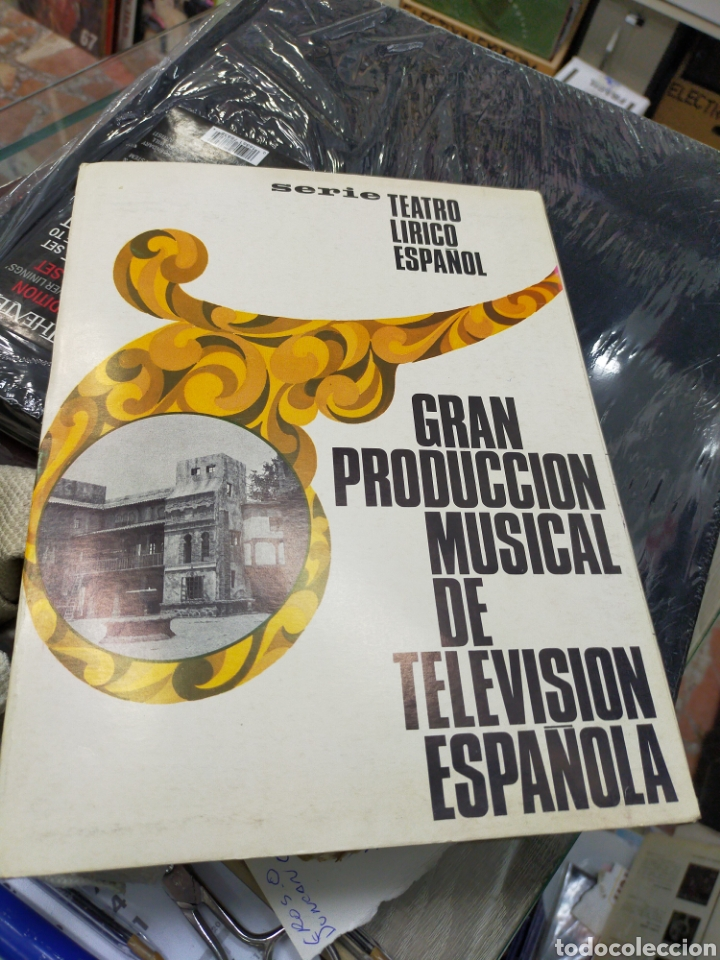 SERIE TEATRO LÍRICO ESPAÑOL GRAN PRODUCCIÓN MUSICAL DE TELEVISIÓN ESPAÑOLA CARPETA CON LOS PROGRAMAS (Música - Varios)