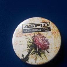 """Música de colección: CHAPA ASPID """"MUSA"""" MERCHANDISING OFICIAL (HEAVY METAL). Lote 222525242"""