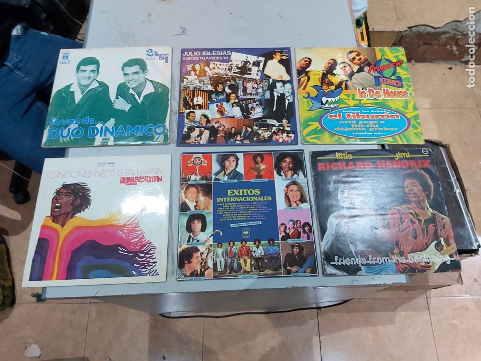 Música de colección: Gran lote de 100 discos de música tamaño grande variados. Ver las fotos - Foto 3 - 222640076