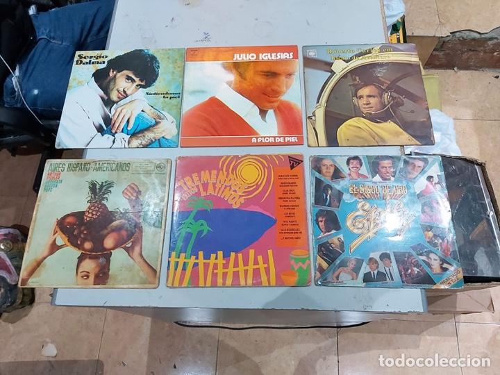 Música de colección: Gran lote de 100 discos de música tamaño grande variados. Ver las fotos - Foto 4 - 222640076
