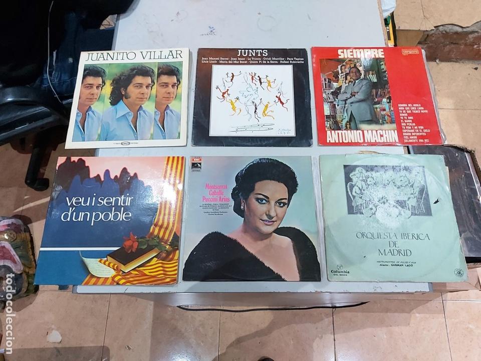 Música de colección: Gran lote de 100 discos de música tamaño grande variados. Ver las fotos - Foto 6 - 222640076