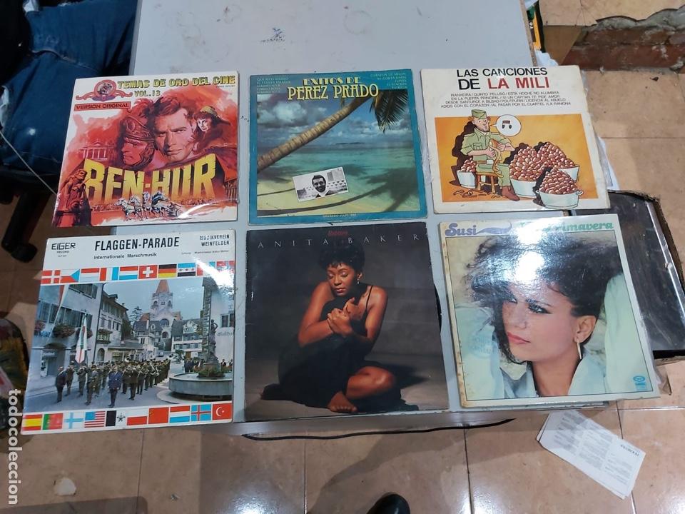 Música de colección: Gran lote de 100 discos de música tamaño grande variados. Ver las fotos - Foto 7 - 222640076