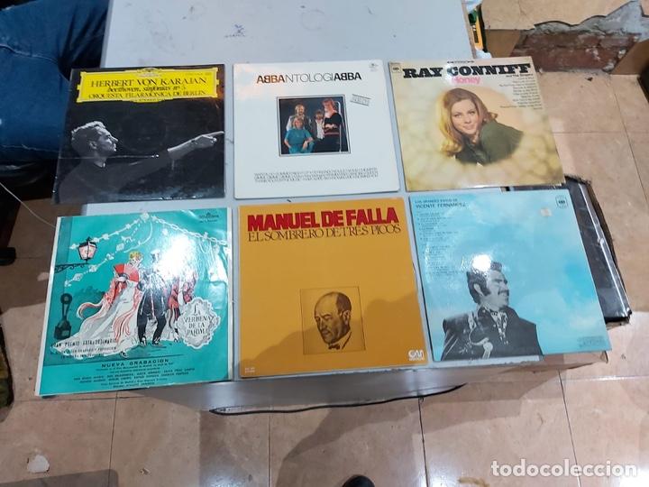 Música de colección: Gran lote de 100 discos de música tamaño grande variados. Ver las fotos - Foto 12 - 222640076