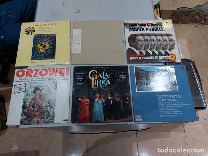 Música de colección: Gran lote de 100 discos de música tamaño grande variados. Ver las fotos - Foto 13 - 222640076