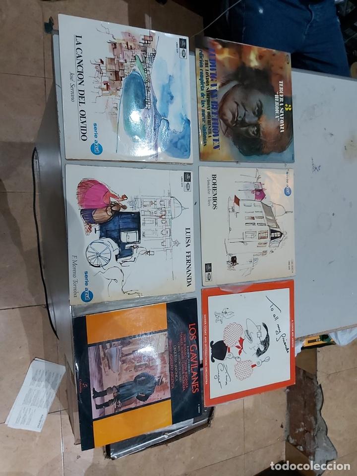 Música de colección: Gran lote de 100 discos de música tamaño grande variados. Ver las fotos - Foto 17 - 222640076